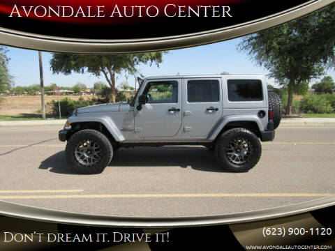 2014 Jeep Wrangler Unlimited for sale at Avondale Auto Center in Avondale AZ