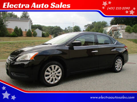 2015 Nissan Sentra for sale at Electra Auto Sales in Johnston RI