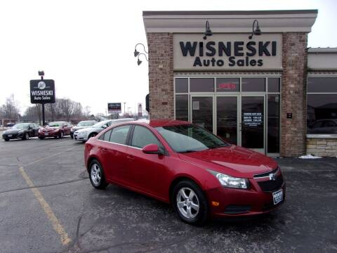 2012 Chevrolet Cruze for sale at Wisneski Auto Sales, Inc. in Green Bay WI