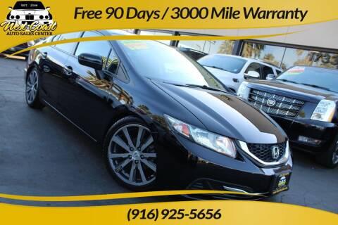2014 Honda Civic for sale at West Coast Auto Sales Center in Sacramento CA