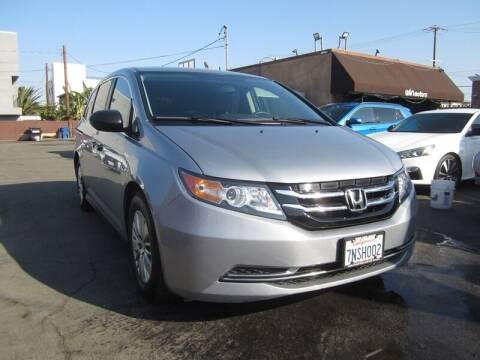2016 Honda Odyssey for sale at Win Motors Inc. in Los Angeles CA