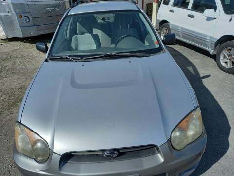 2004 Subaru Impreza for sale at Marvelous Motors in Garden City ID
