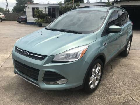 2013 Ford Escape for sale at AMERICAN AUTO COMPANY in Beaumont TX