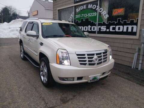 2008 Cadillac Escalade for sale at CITY SIDE MOTORS in Auburn ME
