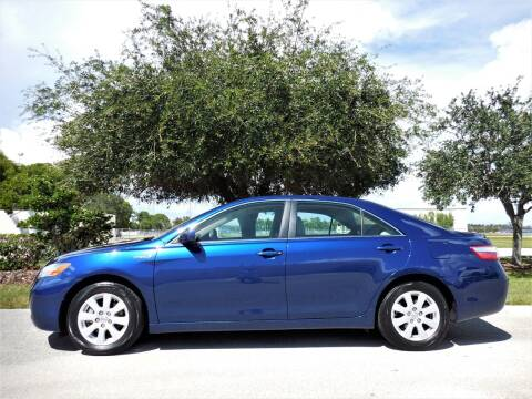 2007 Toyota Camry Hybrid for sale at Performance Autos of Southwest Florida in Fort Myers FL