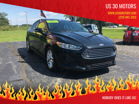 2015 Ford Fusion for sale at US 30 Motors in Merrillville IN