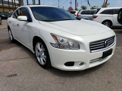2013 Nissan Maxima for sale at JAVY AUTO SALES in Houston TX