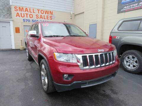 2012 Jeep Grand Cherokee for sale at Small Town Auto Sales in Hazleton PA