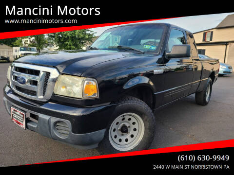 2009 Ford Ranger for sale at Mancini Motors in Norristown PA