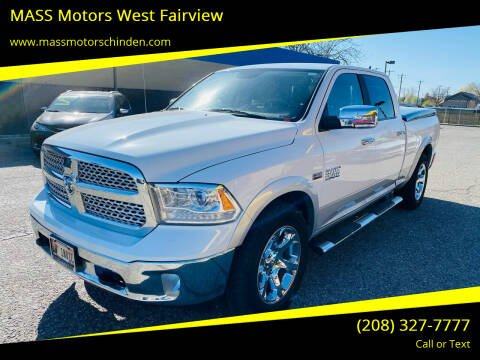 2017 RAM Ram Pickup 1500 for sale at MASS Motors West Fairview in Boise ID