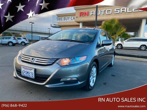 2010 Honda Insight for sale at RN Auto Sales Inc in Sacramento CA