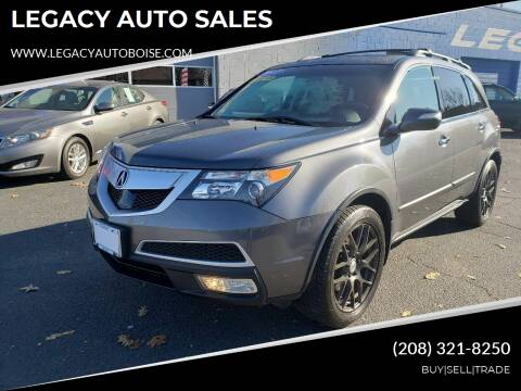 2012 Acura MDX for sale at LEGACY AUTO SALES in Boise ID