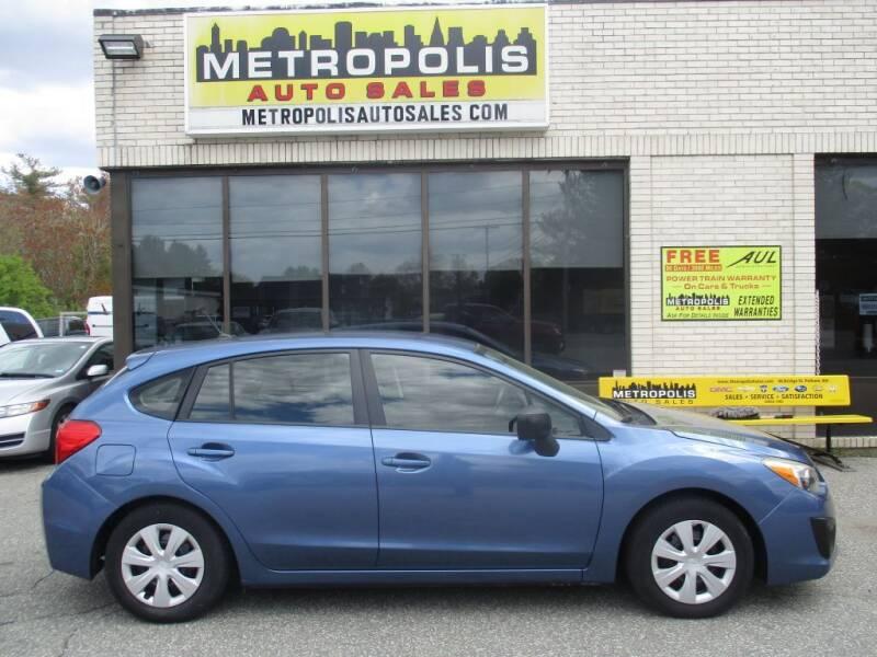 2014 Subaru Impreza for sale at Metropolis Auto Sales in Pelham NH