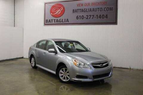 2012 Subaru Legacy for sale at Battaglia Auto Sales in Plymouth Meeting PA