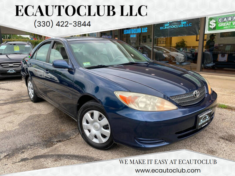 2003 Toyota Camry for sale at ECAUTOCLUB LLC in Kent OH