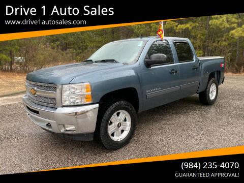 2013 Chevrolet Silverado 1500 for sale at Drive 1 Auto Sales in Wake Forest NC