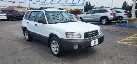2003 Subaru Forester for sale at I-80 Auto Sales in Hazel Crest IL