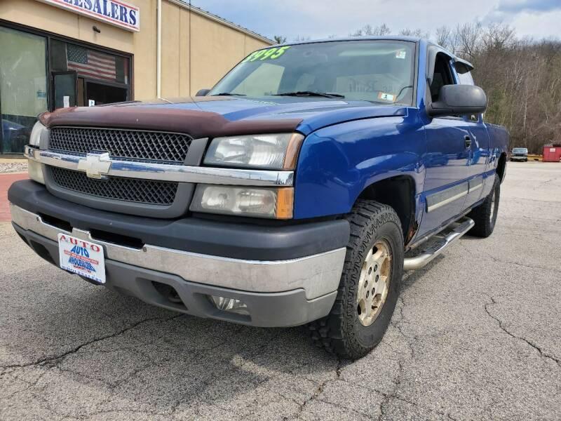 2004 Chevrolet Silverado 1500 for sale at Auto Wholesalers Of Hooksett in Hooksett NH