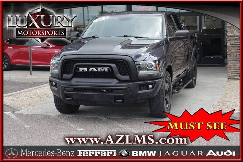 2019 RAM Ram Pickup 1500 Classic for sale at Luxury Motorsports in Phoenix AZ