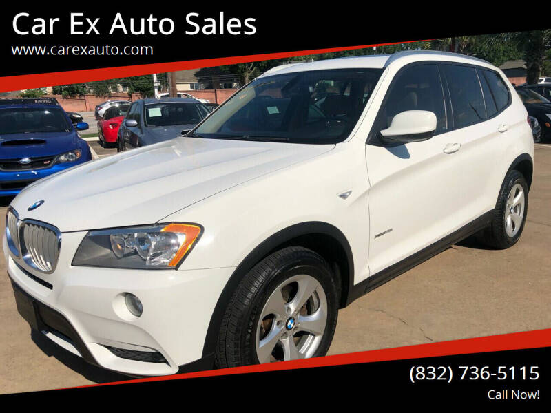 2012 BMW X3 for sale at Car Ex Auto Sales in Houston TX