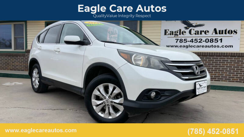 2013 Honda CR-V for sale at Eagle Care Autos in Mcpherson KS