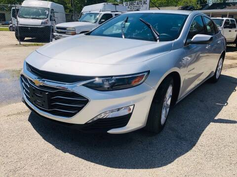 2019 Chevrolet Malibu for sale at Lion Auto Finance in Houston TX