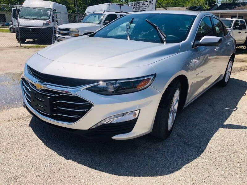 2019 Chevrolet Malibu for sale at Lion Auto Finance in Houston TX