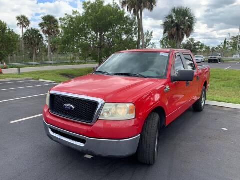 2007 Ford F-150 for sale at L G AUTO SALES in Boynton Beach FL