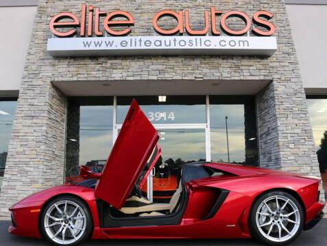 2015 Lamborghini Aventador for sale at Elite Autos LLC in Jonesboro AR