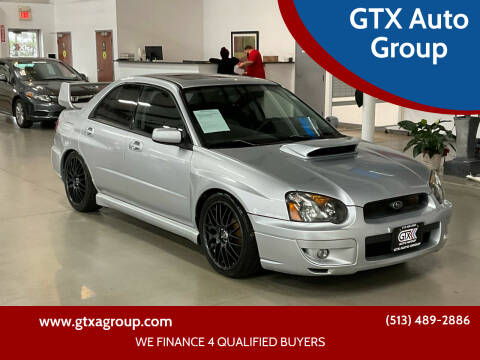 2005 Subaru Impreza for sale at GTX Auto Group in West Chester OH