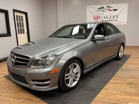 2014 Mercedes-Benz C-Class for sale at Quality Autos in Marietta GA