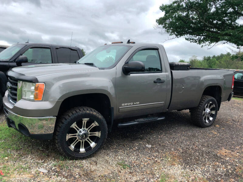 2008 GMC Sierra 2500HD for sale at Greeley's Garage in Auburn ME