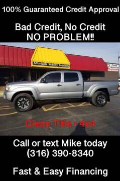 2014 Toyota Tacoma for sale at Affordable Mobility Solutions, LLC - Standard Vehicles in Wichita KS