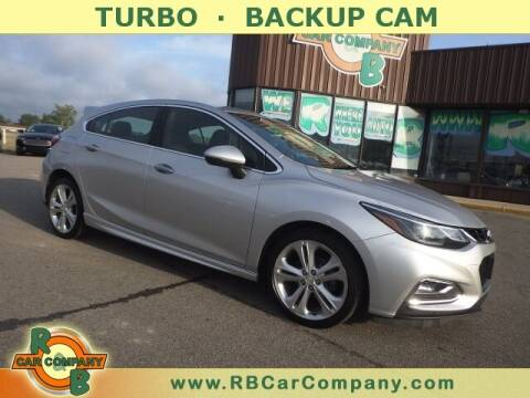 2018 Chevrolet Cruze for sale at R & B Car Co in Warsaw IN
