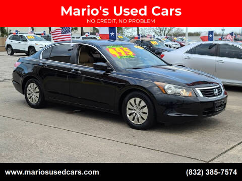 2010 Honda Accord for sale at Mario's Used Cars in Houston TX