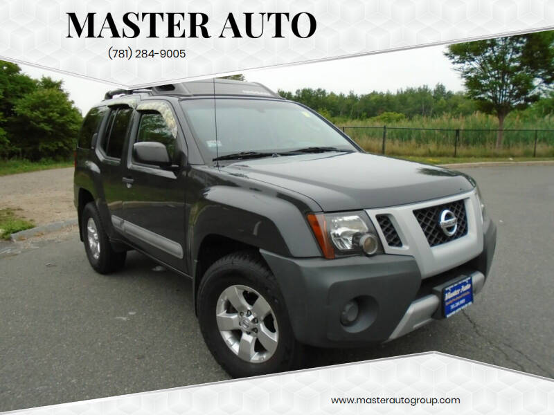 2011 Nissan Xterra for sale at Master Auto in Revere MA