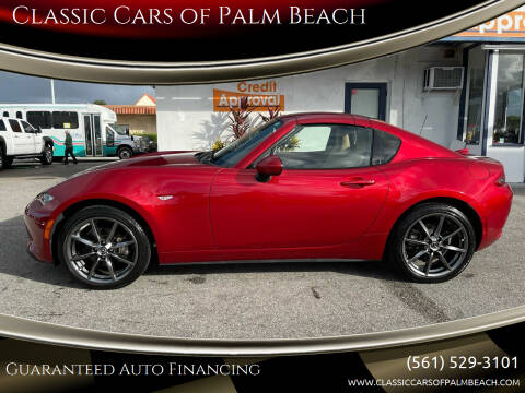 2017 Mazda MX-5 Miata RF for sale at Classic Cars of Palm Beach in Jupiter FL