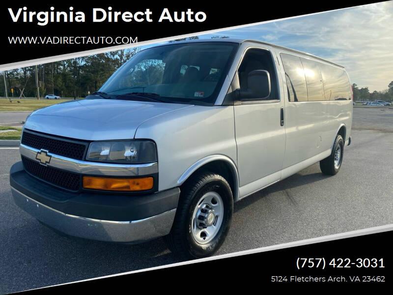 2015 Chevrolet Express Passenger for sale at Virginia Direct Auto in Virginia Beach VA