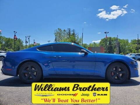 2018 Ford Mustang for sale at Williams Brothers - Pre-Owned Monroe in Monroe MI