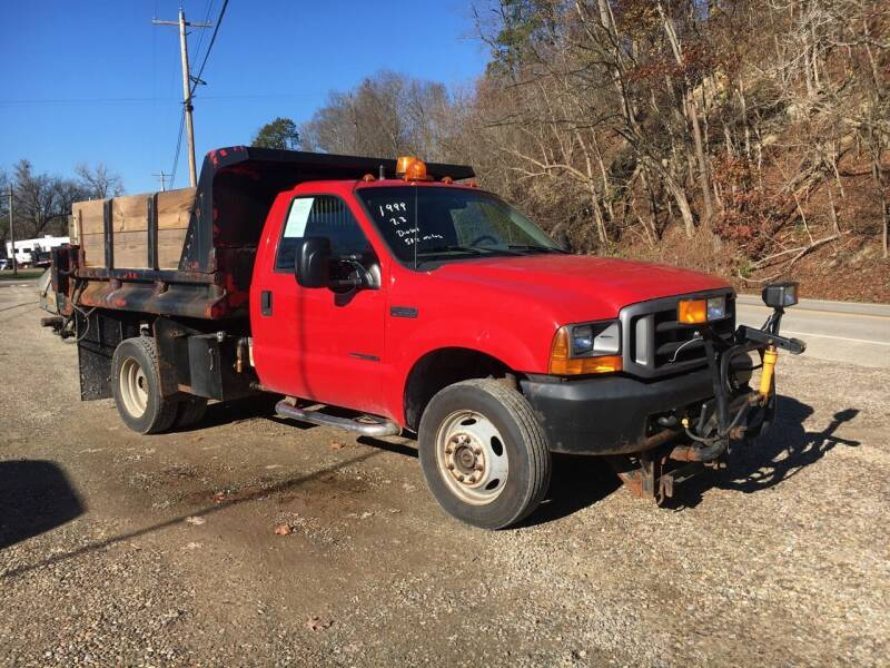 1999 Ford F-550 Super Duty for sale at DONS AUTO CENTER in Caldwell OH