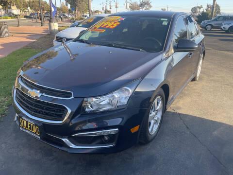 2016 Chevrolet Cruze Limited for sale at Soledad Auto Sales in Soledad CA