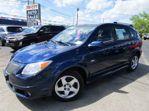 2007 Pontiac Vibe for sale at TRI CITY AUTO SALES LLC in Menasha WI