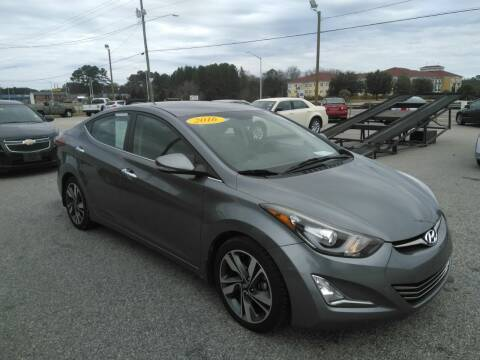 2016 Hyundai Elantra for sale at Kelly & Kelly Supermarket of Cars in Fayetteville NC