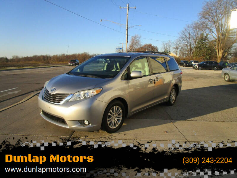 2011 Toyota Sienna for sale at Dunlap Motors in Dunlap IL