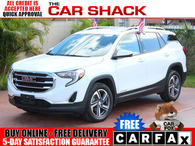2019 GMC Terrain for sale at The Car Shack in Hialeah FL