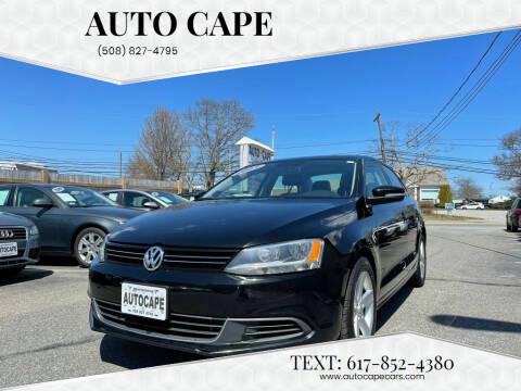 2013 Volkswagen Jetta for sale at Auto Cape in Hyannis MA