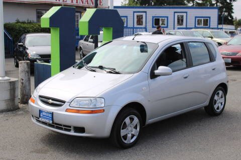 2007 Chevrolet Aveo for sale at BAYSIDE AUTO SALES in Everett WA