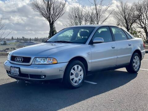 2001 Audi A4 for sale at Q Motors in Tacoma WA