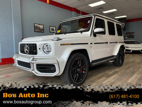 2020 Mercedes-Benz G-Class for sale at Bos Auto Inc in Quincy MA