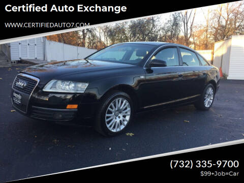 2007 Audi A6 for sale at Certified Auto Exchange in Keyport NJ